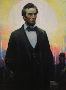 Lincoln-mural